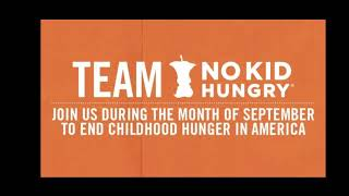 Matt's playtime. Giving back supporting No Kid Hungry at First Watch Fairfax