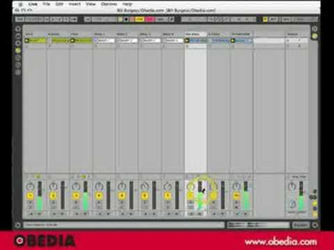 ABLETON LIVE: Recording Your Session