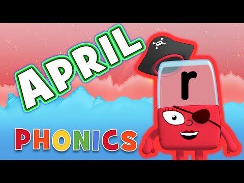 Phonics - Learn to Read | APRIL - Letter R | Alphablocks