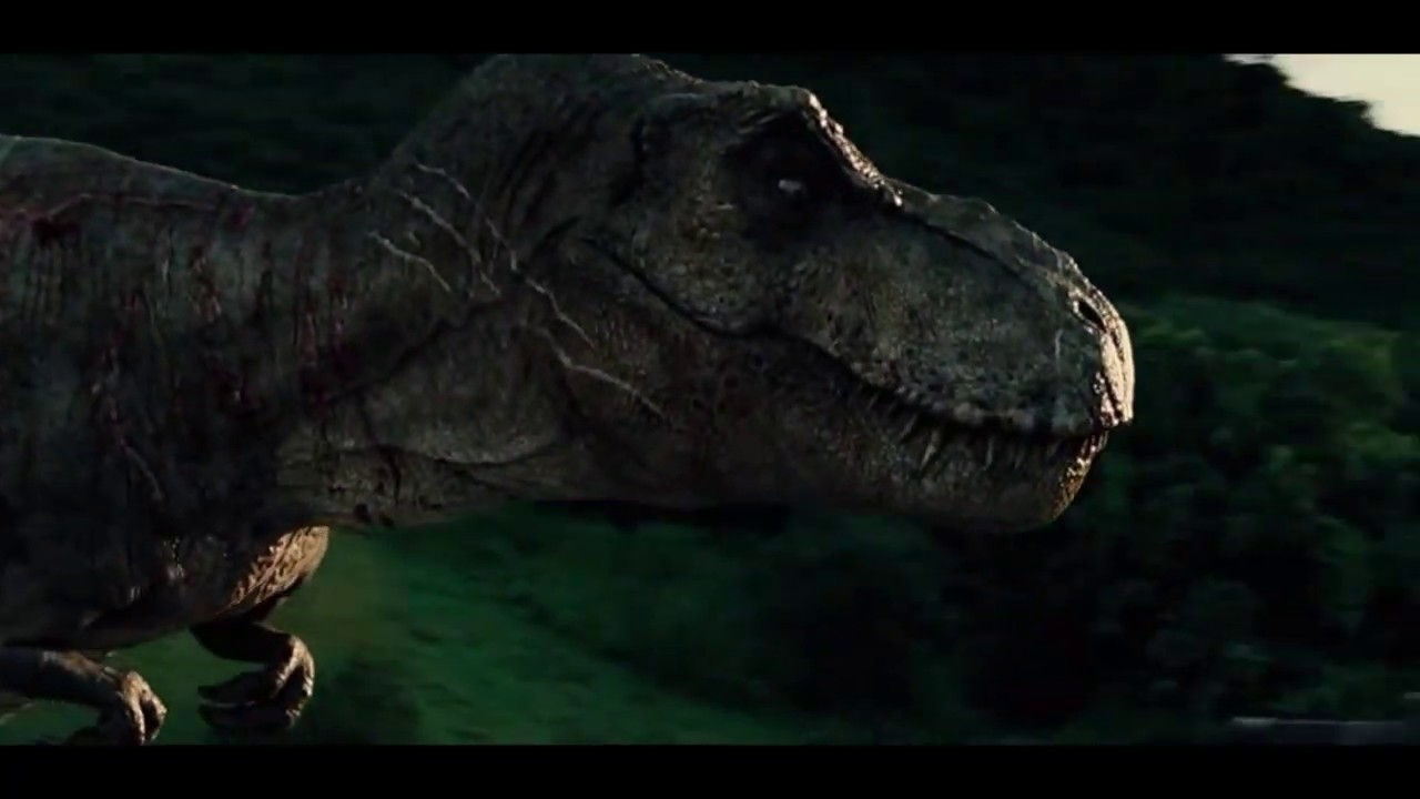 Jurassic World Ending Scene 2015 Youtube