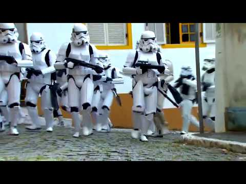 Star Wars Prank - Hidden Camera Show in Brazil