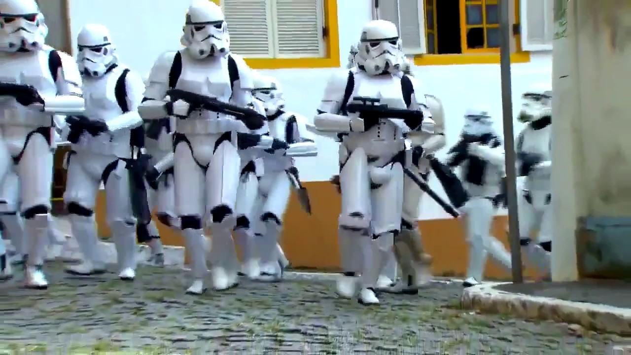 Candid Camera Star Wars : Star wars prank hidden camera show in brazil youtube