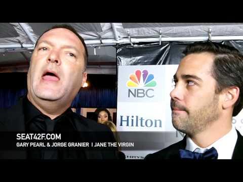 Gary Pearl Jorge Granier Jane The Virgin Golden Globes 2015 Interview
