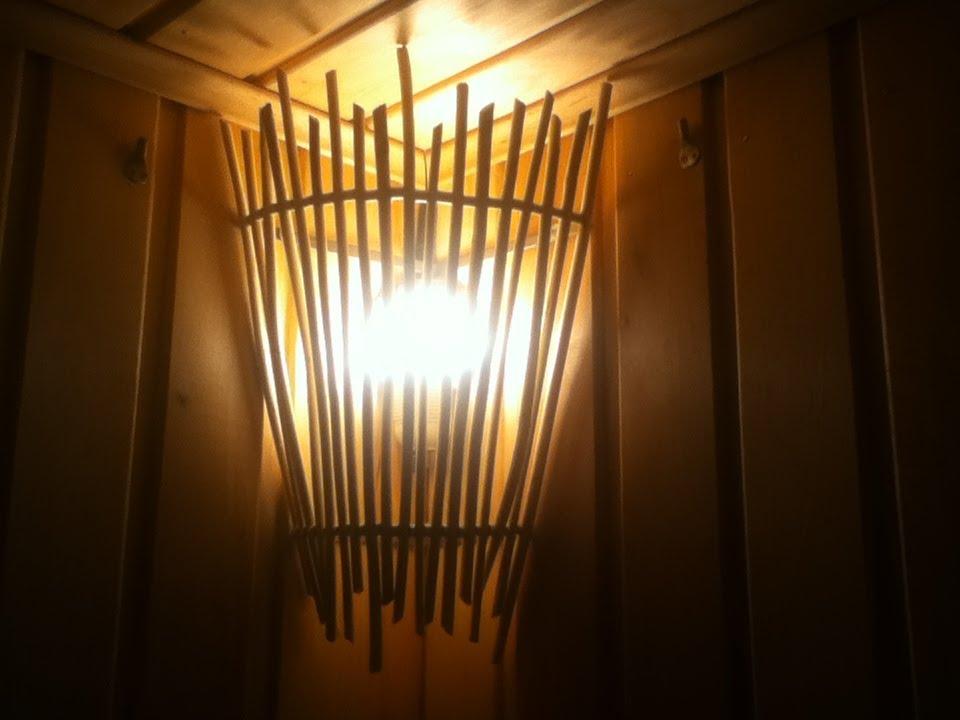 Светильники для бани своими руками Строительный портал 25