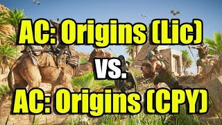 Assassin's Creed: Origins (Lic) vs. Assassin's Creed: Origins (CPY)