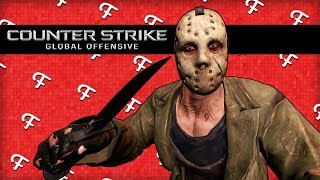 CSGO: Hide and Seek From Jason Voorhees, Turning On Cheats, Map Glitches! (Comedy Gaming)
