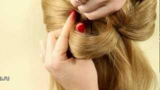 видео бант из волос — пошаговая инструкция, фото