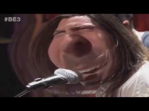 andrew wk's e3 performance but it's bass boosted