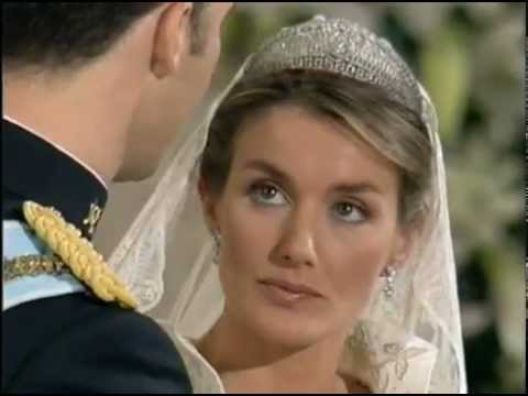 Wedding Vows of the Prince and Princess of Asturias. May 22, 2004. La Almudena Cathedral, Madrid.