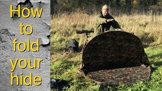 How to fold the Ultimate Simon King Wildlife Hide