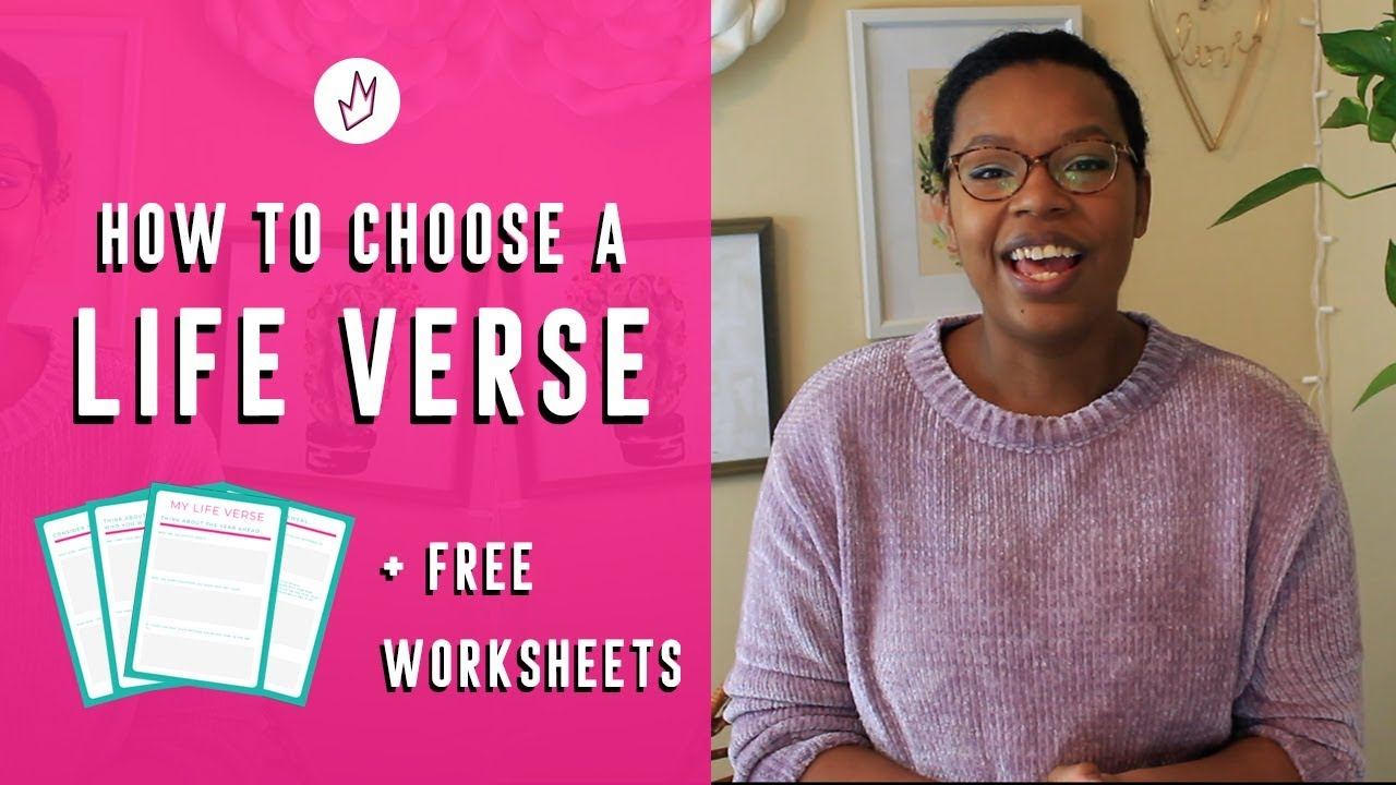 7f3fdf183 Choose a Life Verse for the New Year 2019 | Life Planning for Christian  Women Series