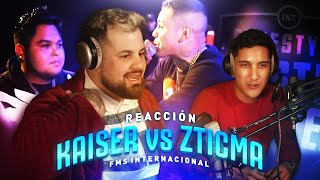 Reaccionamos a KAISER vs ZTICMA - FMS INTERNACIONAL