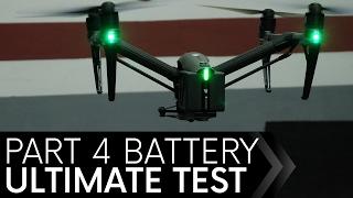 DJI Inspire 2 Battery Test Episode 4 INDOORS