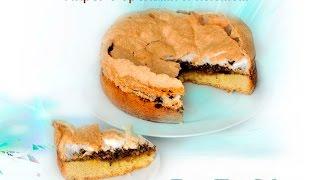 Пирог с орехами и изюмом. Рецепт и видео по приготовлению.