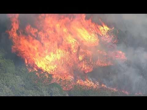 Possum Kingdom Lake Fire