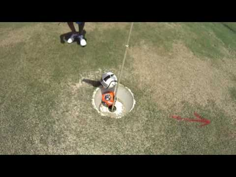 Footgolf Michael and Jeremiah part 3 on 06/10/2016 at Humble Oil Patch Golf Center