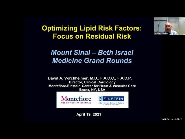 Optimizing Lipid Risk Factors: Focus on Residual Risk