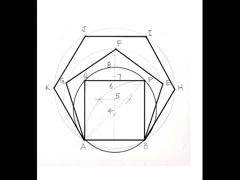 A General Method of Drawing Polygons