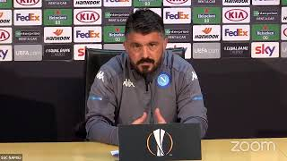 In diretta dal Training Center la conferenza stampa di Mister Gattuso e Koulibaly