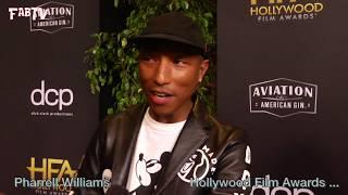 "Pharrell Williams arrives at the 23 Annual ""Hollywood Film Awards"""