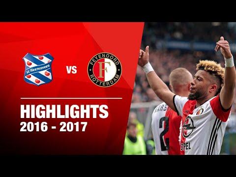 Samenvatting sc Heerenveen - Feyenoord 2016-2017