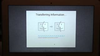 MacBook Air Setup with Time Machine Backup