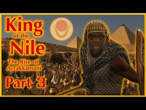 King of the Nile #3 | The Lord of Salt and Fire | TW Rome 2 Divide Et Impera Medewi NLP
