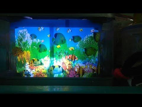 Artificial Electric 3D Moving Fish Aquarium