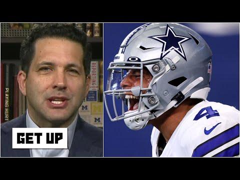 Adam Schefter explains why Dak Prescott has an enormous amount of leverage with the Cowboys | Get Up