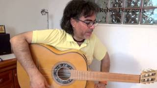 Learn rumba strumming from scratch (3 notes pattern) flamenco guitar online lessons/Ruben Diaz Spain