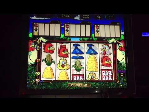 Slot machine galline