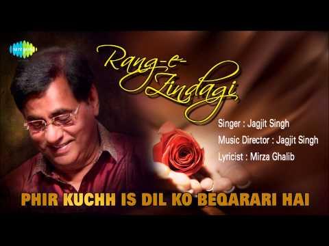 Phir Kuchh Is Dil Ko Beqarari Hai | Ghazal Song | Jagjit Singh