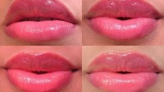 Permanent SOFT PINK LIPS at home with all natural ingredients,100%working
