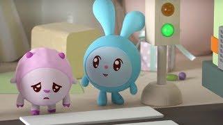 Малышарики - По дороге  - серия 133 - Обучающие мультфильмы для малышей - безопасность на улице