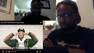 Best BEAT SWITCHES in Rap Songs REACTION
