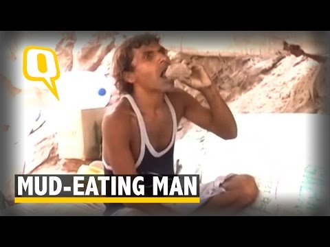 The Quint: Haridwar Man Eats Mud to Keep Himself Healthy