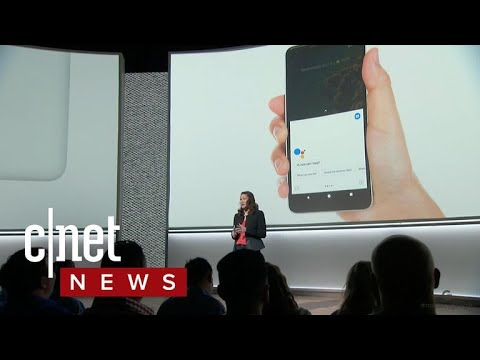 Pixel 2: Squeeze to access features (CNET News)