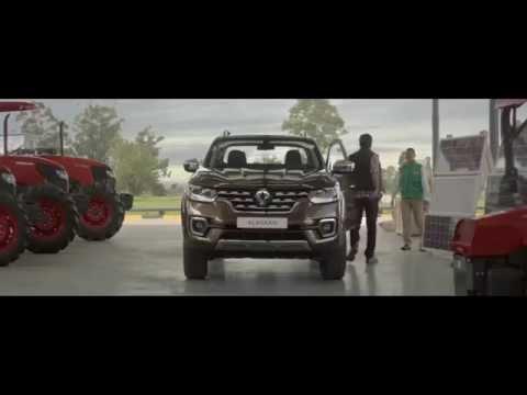 Перше відео пікапу Renault Alaskan