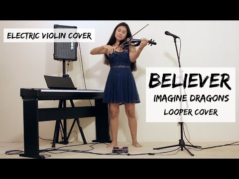 Believer - Imagine Dragons (Looper/Electric Violin Cover by Kimberly McDonough)