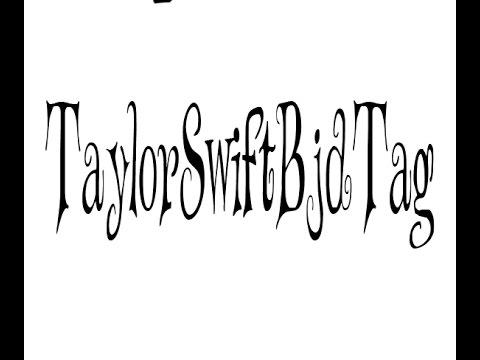 Taylor Swift bjd