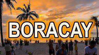 Boracay Island White Beach Travel Tour 4K