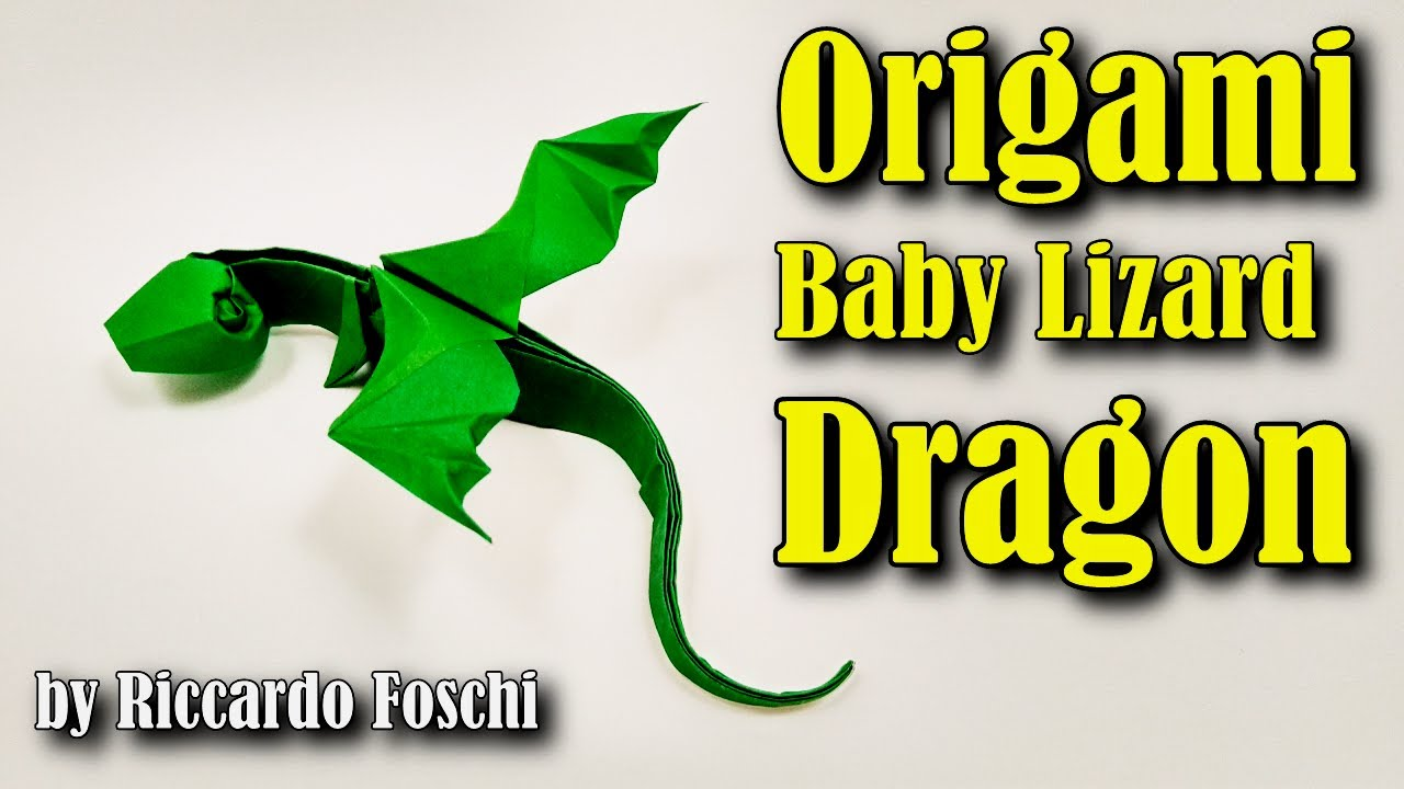 Simple Origami Dragon Instructions - All About Craft | 720x1280