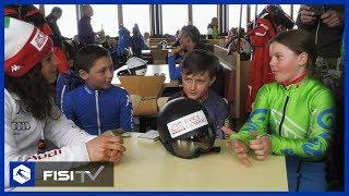 I bambini intervistano Federica Brignone
