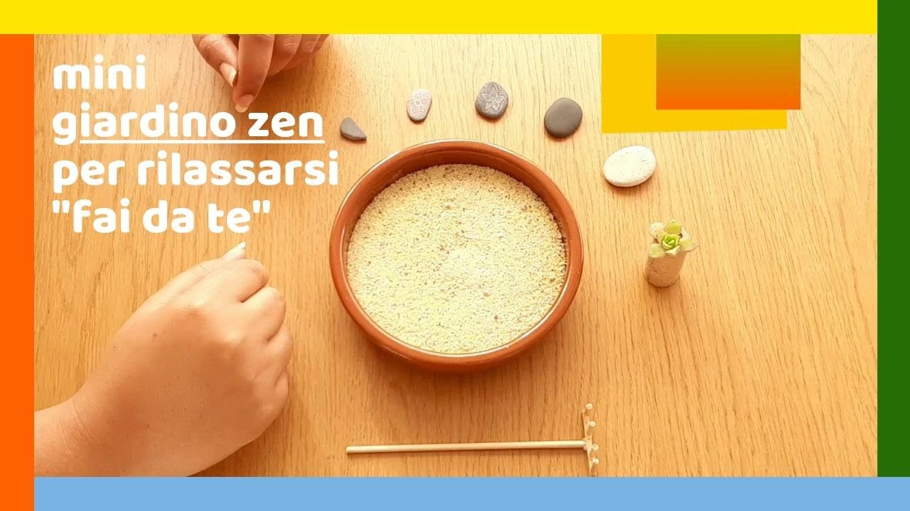 Fai Da Te Giardino Zen mini giardino zen⁜per⁜rilassarsi fai da te⁂ i sassolini