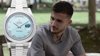 USMNT Defender Matt Miazga Talking Rolex, World Cup, and Watch Collecting