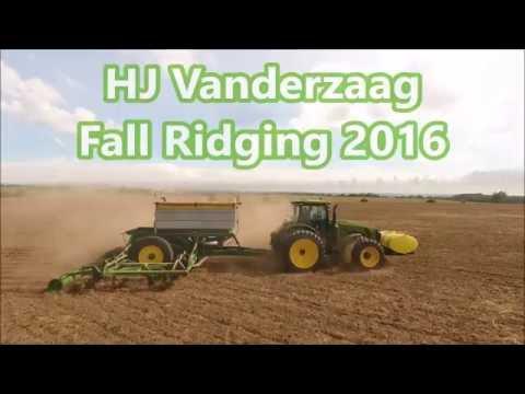 HJ Vanderzaag Ridging 2016