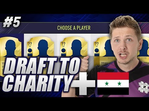 CAN ANYONE STOP OUR DRAFT STREAK?! FIFA 18 DRAFT TO CHARITY #5