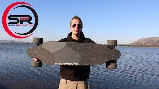 FLEX-E Board 2.0 - Is this the Lotus Elise of Electric Skateboards? Slick Revolution
