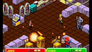 Escape from the Planet of the Robot Monsters 2 player arcade game