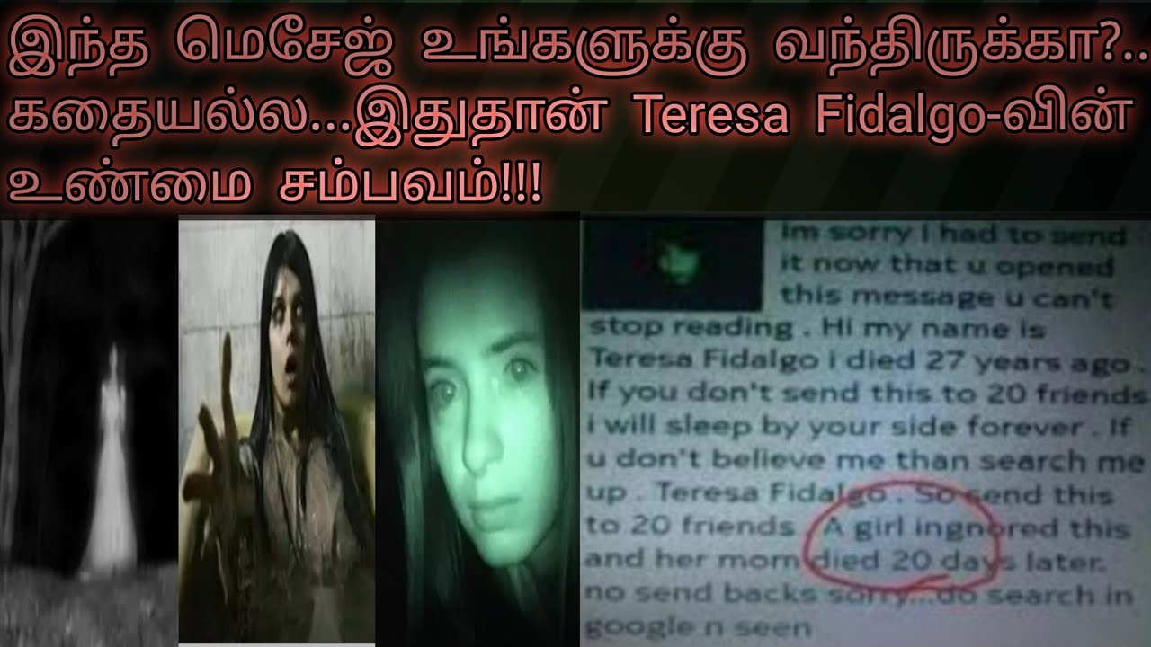 Fidalgo www teresa Who is